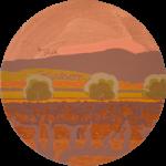 Yana BYSTROVA, Mosaïque des vignes et des oliviers