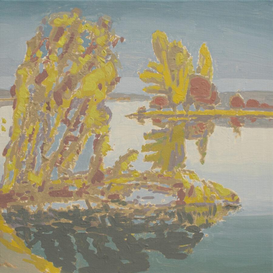 Yana BYSTROVA, Lac de Izon